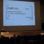 """Kristjan Roosilla ettekanne """"Kaartide kasutamine 2011. aasta rahva- ja eluruumide loenduse etappidel"""""""""""