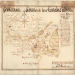 Lümanda mõisa plaan  (1695). Eesti Ajalooarhiiv EAA.308.2.41