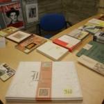 Rahvusraamatukogu laud RR-i fuajees
