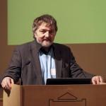 ESTGIS-i juhatuse esimees Tõnu Oja teabepäeva avamas