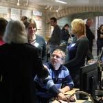 Külastajad CGI Eesti ja Häirekeskuse laua juures