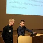 Rain Kilkson ja Rando Simson (Tallinna Saksa Gümnaasium)