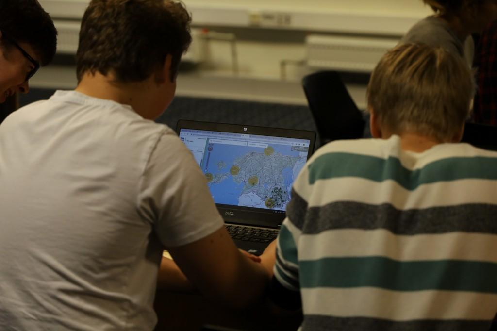 GIS-päeva koolidevaheline võistlus